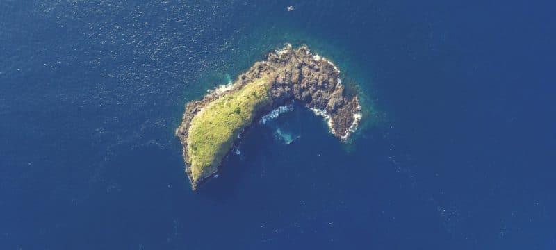 north sent island